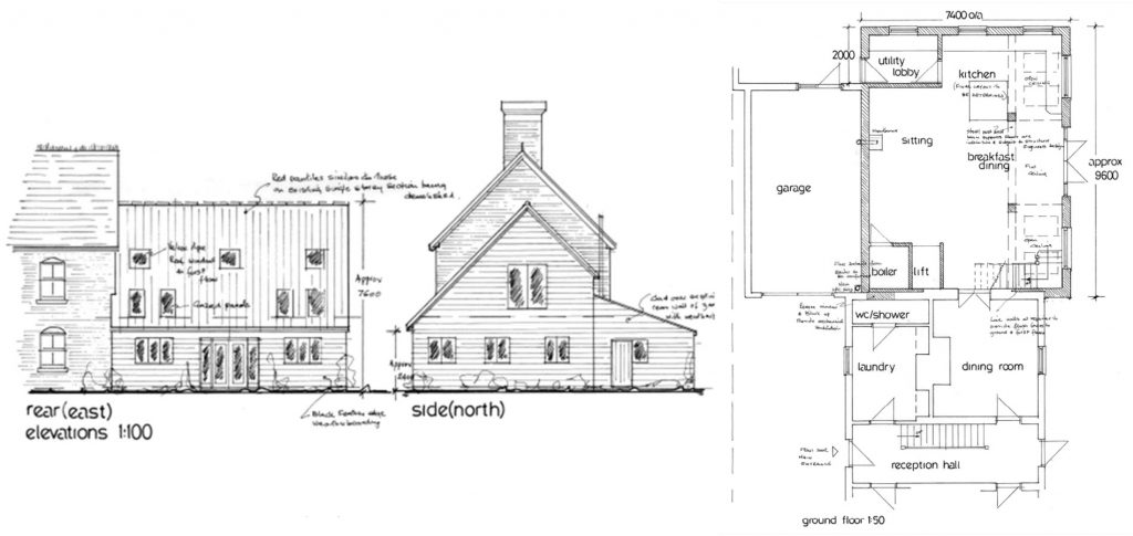 plans & drawings for building work Suffolk