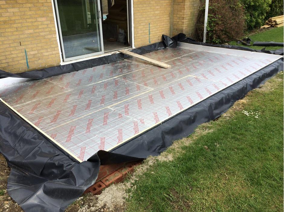 building work - garage conversion, Great Ashfield