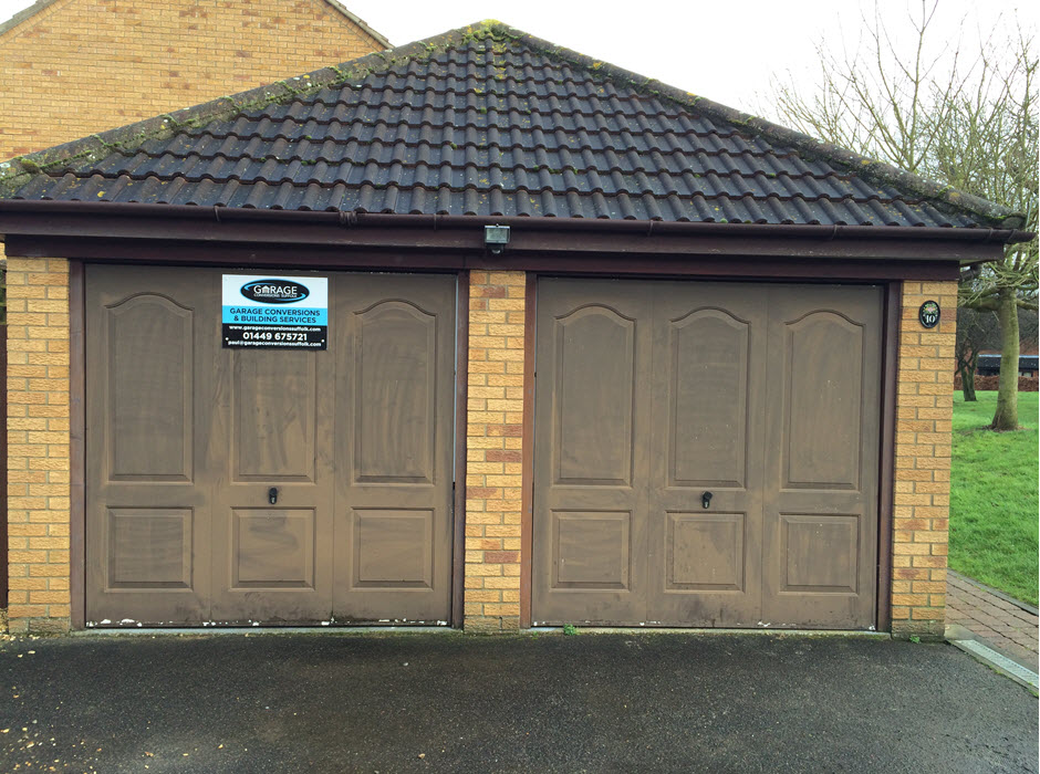 portfolio garage conversion Stowmarket