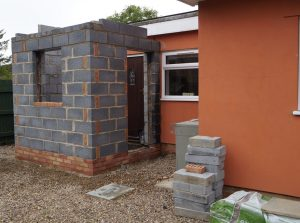 Start of home extension and alterations Rickinghall