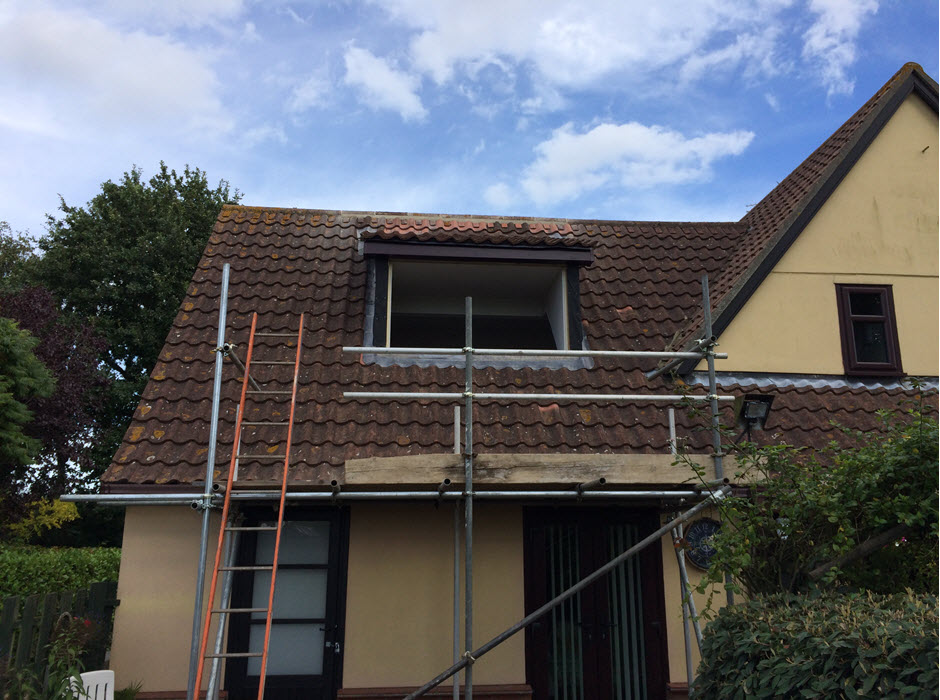 Build Dormer window, Redgrave