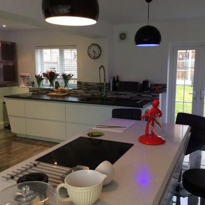 Garage conversion to kitchen Stowmarket